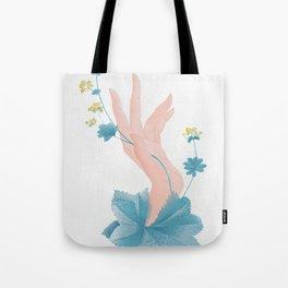 Lady's mantle Tote Bag