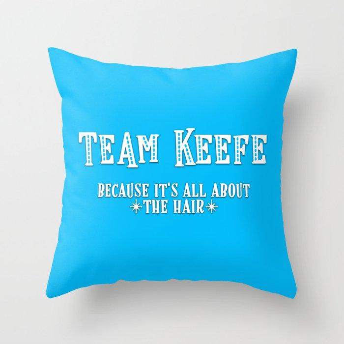 Team Keefe Deko-Kissen
