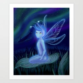 The Curious Spirit Art Print