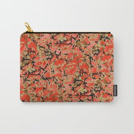 Turtoise Shell Pattern Carry-All Pouch