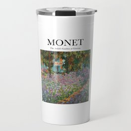 Monet - The Artist's Garden at Giverny Travel Mug