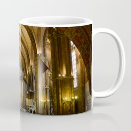 budapest matthias church interior Coffee Mug