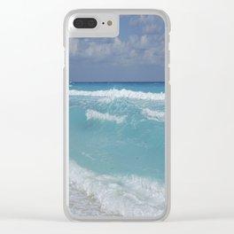 Carribean sea 3 Clear iPhone Case