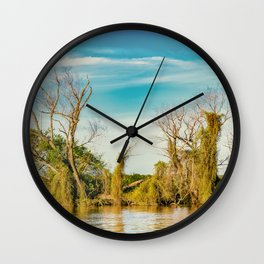 Parana River, San Nicolas, Argentina Wall Clock