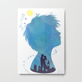 I am Finding Neverland Metal Print
