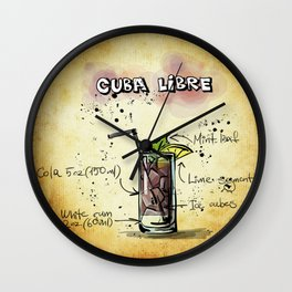 Cuba_Libre_by_JAMFoto Wall Clock