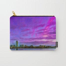 Sun dusk over Boston Carry-All Pouch