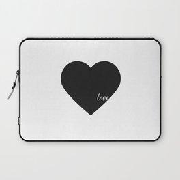 HEART WALL DECOR, Heart Print,Black Heart,Love Quote,love Art,Lovely Words,Printable Art,Love Decor, Laptop Sleeve