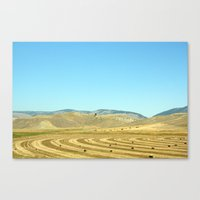 montana Canvas Prints featuring Montana by Chelsey Badiuk