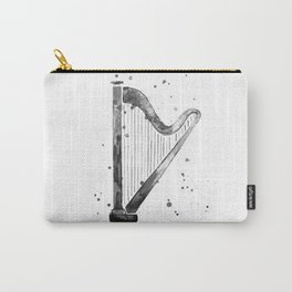 Harp, black and white Carry-All Pouch
