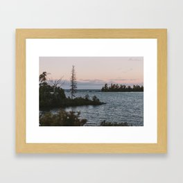 The View From Copper Harbor Framed Art Print
