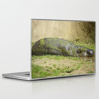 hippo Laptop & iPad Skins featuring hippo by Mathilde Nieuwenhuis