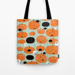 Tricks and Pumpkins Tote Bag