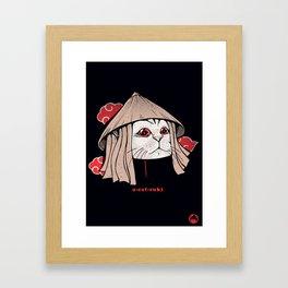 A-Cat-Suki Framed Art Print