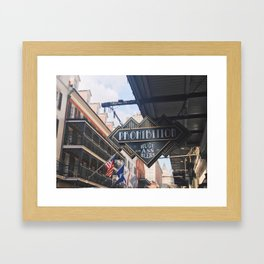 Bourbon Street: A Summary Framed Art Print