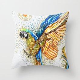 Liberación Throw Pillow