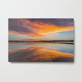 sunrise, Yellowstone National Park Metal Print