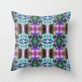 Neurotransmitted Daydreams (Pattern 2) Throw Pillow