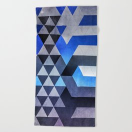 kyr dyyth Beach Towel