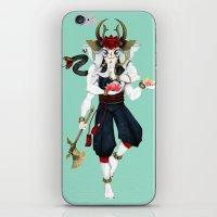 ganesha iPhone & iPod Skins featuring Ganesha by Yoke Tan