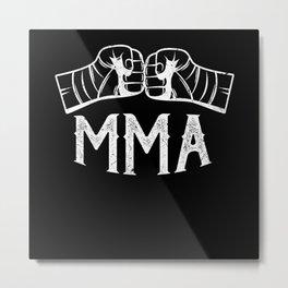 MMA Mixed Martial Arts Metal Print