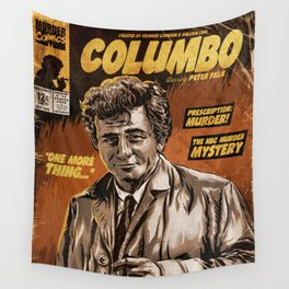 Columbo - TV Show Comic Poster Wall Tapestry