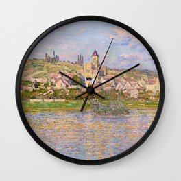 1879-Claude Monet-Vetheuil-60x81 Wall Clock