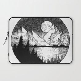 Moonlit Alaska Laptop Sleeve