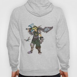 Cyber Hero of Time Hoody