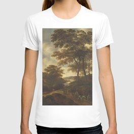 Pieter Jansz van Asch - Wooded Landscape T-shirt
