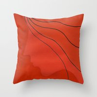 ginger Throw Pillows featuring Ginger by mojekris