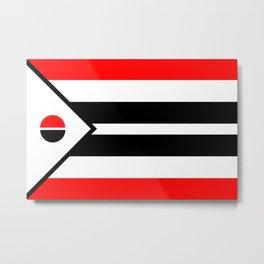 Arapaho Nation Flag Metal Print