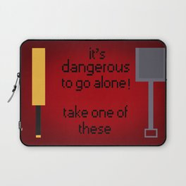 Shaun of the dead - It's dangerous to go alone! Laptop Sleeve