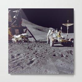 430. Apollo 15 Lunar Module and Rover Metal Print
