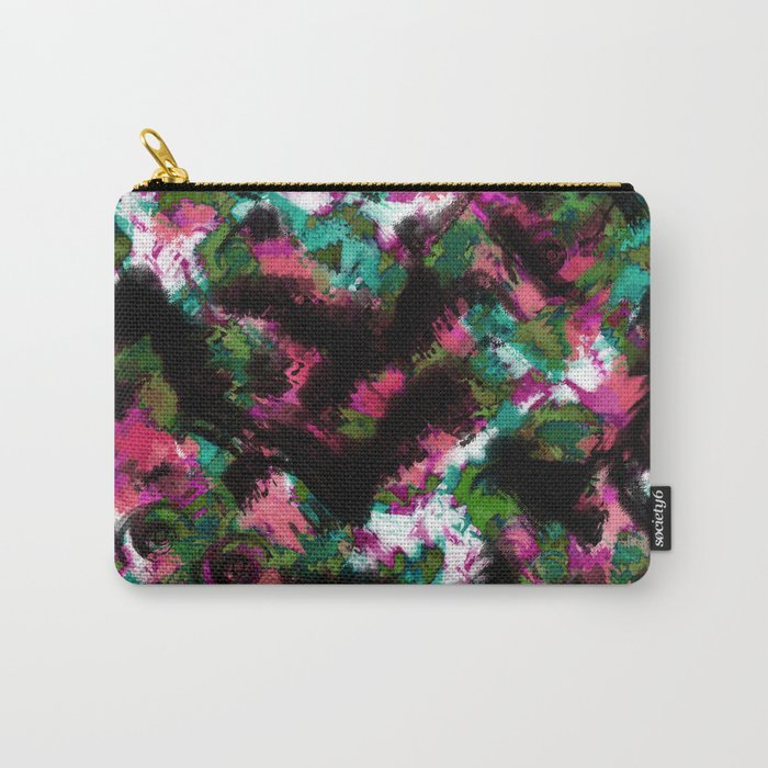 """Watercolor glamour "".  ""Watermelon  juice"" . Carry-All Pouch"