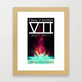 Final Fantasy VII - Destiny Framed Art Print