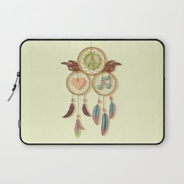 Peace, Love and Music Laptop Sleeve
