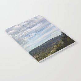 California landscape Notebook