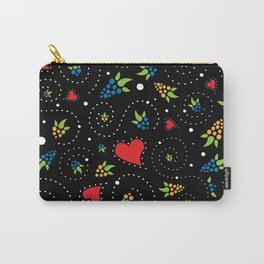 Good Luck Rooster - Just Pattern Carry-All Pouch