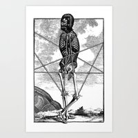 pagan Art Prints featuring Pagan practioners by DIVIDUS