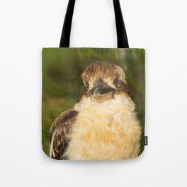 Painted laughing kookaburra Tote Bag