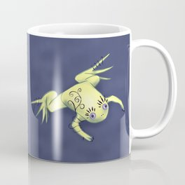 Funny Frog With Fancy Eyelashes Digital Art Coffee Mug