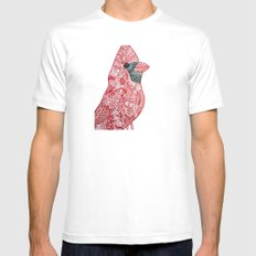 Cardinal Cardinal White SMALL Mens Fitted Tee