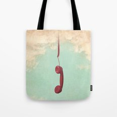 Call from Above Tote Bag