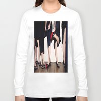 shoes Long Sleeve T-shirts featuring Shoes by Aldo Couture