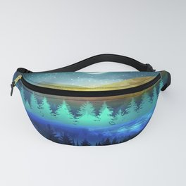 Silent Forest Night Fanny Pack
