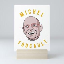 Michel Foucault Philosophy Mini Art Print
