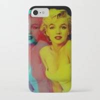 marilyn iPhone & iPod Cases featuring Marilyn  by Laure.B