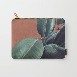 Ficus Elastica #17 #AutumnLeaf #foliage #decor #art #society6 Carry-All Pouch