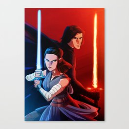 balance to the force Canvas Print